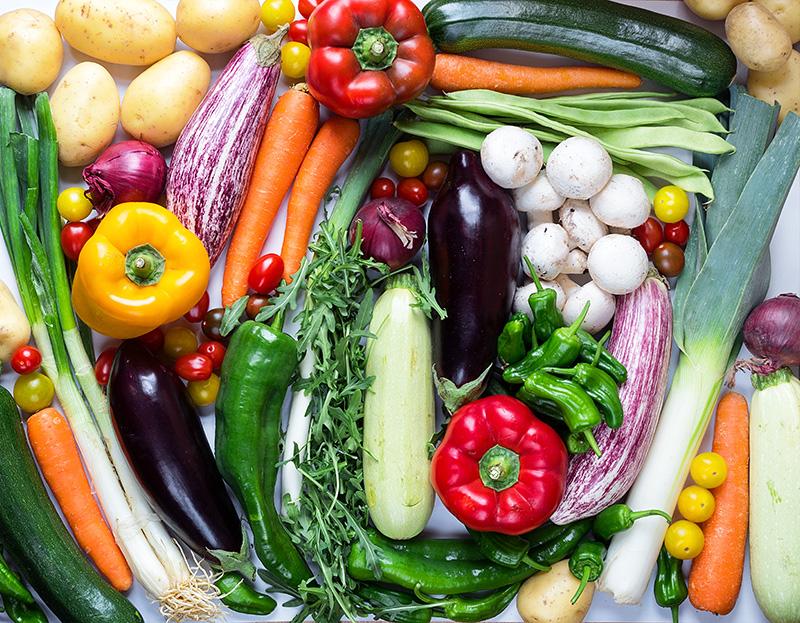 Verduras, hortalizas y setas