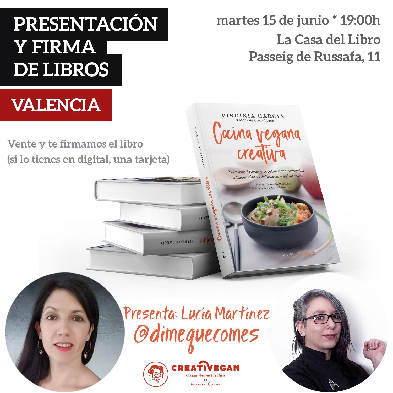 Presentación del libro Cocina Vegana Creativa
