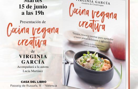 Presentación Libro Cocina Vegana Creativa